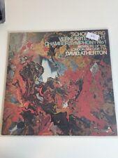Schönberg Verklärte Nacht LP David Atherton (993)