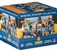 Panini NFL 2016 Sticker Refill Box, Small, Black
