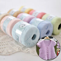 1 Ballsx50gr 100% Cotton Crochet Thread Yarn Craft Tatting Knit Embroidery 05#