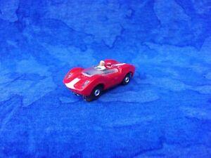 $1-7 Day Original Aurora RED McLaren Elva FLAMETHROWER Tjet HO Slot Car READ!