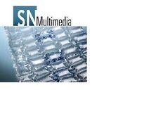 2400 Luftpolster Kissen Füllmaterial ca. 30 Meter Füllen, Polstern