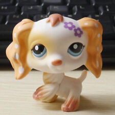 "LPS COLLECTION LITTLEST PET SHOP CREAM Cocker DOG RARE TOY 3"" #1615"