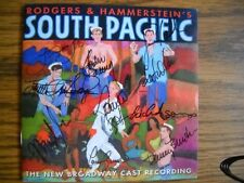Signed South Pacific CD Paulo Szot Laura Osnes Danny Burstein Loretta Ables +4
