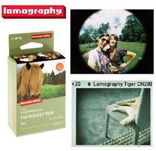 Lomography LOMO 200 ISO 24exp Tiger Color Netgative 110 Pocket Film x 3 Rolls