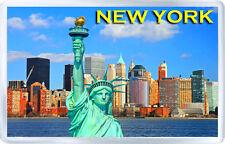 NEW YORK #4 FRIDGE MAGNET SOUVENIR IMÁN NEVERA