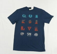 Quiksilver Men TShirts Large Into the Void Blue