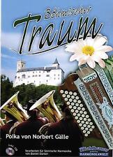 Steirische Harmonika Noten : Böhmischer Traum mit CD (Polka) mittelschwer
