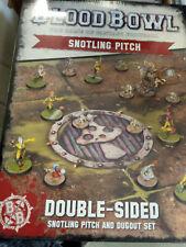 Blood Bowl Snotling Pitch y piragua Set-Nuevo