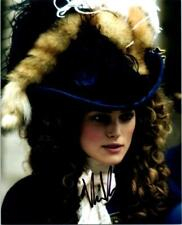 Keira Knightley autographed 8x10 signed photo Picture Pic and COA