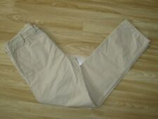 "Mens DIESEL Beige Cotton Trousers Pants Size 32 L32 / Waist 34"" Great"
