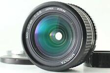 【 RARE NEAR MINT++ 】 Minolta New MD 20mm F2.8 Wide Angle MF Lens From Japan #651