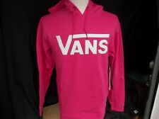 NWT MEN'S VANS CLASSIC HOODIE.MEDIUM.FUCHSIA PURPLE.BRAND NEW FOR 2020.