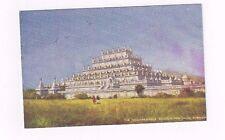 "BURMA antique Tuck db post card ""Incomparable Pagoda"" in Mandalay"