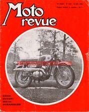 MOTO REVUE 1906 SUZUKI X6 250 T20 ; HONDA CB 750 BMW R69 GUZZI V7 PUCH 250 1968