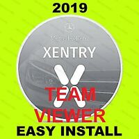 V2019.05 MB SD Pass Thru Software Star OBD2 Diagnosis for MB Xentry TEAMVIEWER