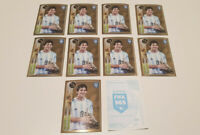 10 x LIONEL MESSI GOLDEN SHINY 2016 2017 PANINI FIFA 365 🔥 🔥 NEW MINT INVEST