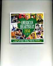 AMERICAN HEARTBEAT 1956 - PERRY COMO KAY STARR FATS DOMINO ELVIS - 2 CDS - NEW!!