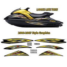 2006-2007 Yamaha GP1300R Wave Runner Full Decal Kit