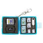 JJC Memory Card Case Mini w/ Lock Ring 2SD 2MSD 2SIM 2Micro SIM 2Nano SIM Cards