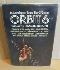 Anthology Sci-fic Stories Orbit 6 Damon Knight Hb Dj short stories novel book