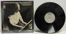 Leonard Shure Plays Franz Schubert Audiophile Vinyl LP Record Audiofon 2010 (M-)
