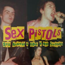 Sex, Anarchy & Rock N' Roll Swindle by Sex Pistols(LTD Pink Vinyl)2009 Cleopatra