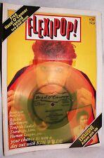 Flexipop #9w/ Hazel O'Connor 2TrcFlexi-Disc M/NrM1980 10Pl Tdr Furs Trdrp Hmn Lg