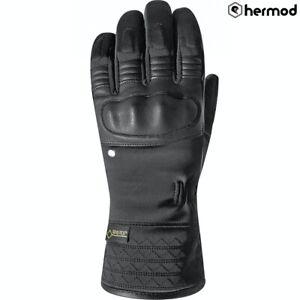 Racer Austin Gore-Tex GTX Ladies Winter Waterproof Motorcycle Gloves - Black