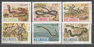 Mozambique - Correo Yvert 862/7 ** Mnh  Faima serpientes