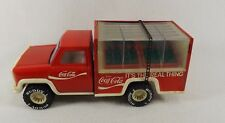 "Scarce Vintage Buddy L Coca Cola ""It's the Real Thing"" Delivery Truck 4 crates"