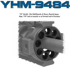 """YHM Round Forearm Endcap  - 1 1/16""""  - YHM-9484 MODEL B - END CAP"""