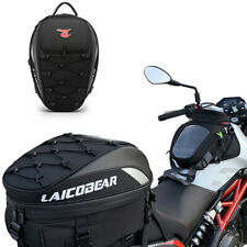 Motorcycle Bike Rear Sport Back Seat Bag Scooter Helmet Pack Luggage Waterproof