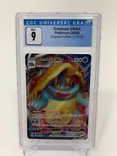 Pokemon 2020 Champion's Path Drednaw VMAX 015/073 CGC 9 Mint Like PSA #2