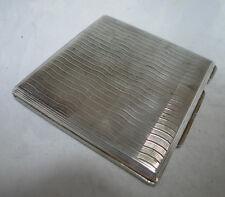 Antique 800 Grade Silver Compact 90g 7.7cm x 7.6cm A647817