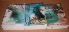 Lux Novels Bk. 1-2,3-4,5 Complete Set by Jennifer L. Armentrout Paperback NEW