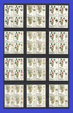 Malaysia 1986, AGRO PLANT FLOWER FRUITS, Block of 4 MNH Si355