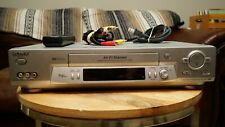 Sony Slv-N81 Vcr Vhs Player w/ Remote & A/V Cable (tested & working)