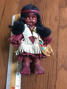 Vtg Woodland Indians Princess Native American Fort Kody Carlson Dolls tag price