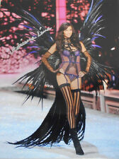 ADRIANA LIMA  V.S. SUPERMODEL  * HAND SIGNED * 8 X10 * WHERE SIGNED ON REVERSE