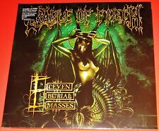 Cradle Of Filth: Eleven Burial Masses - Live 2 LP 180G Vinyl Record Set 2016 NEW