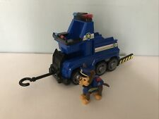 Paw Patrol Ultimate Rescue Chase Vehicle And Figure With Lifting Seat& Barricade