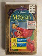 The Little Mermaid (VHS, 1990)