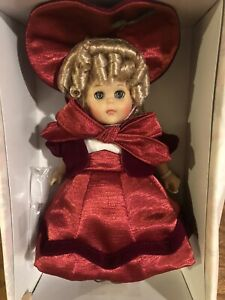 """Vogue 8"""" Ginny Doll New in Original Pink Box Christmas Memories Dress Outfit"""