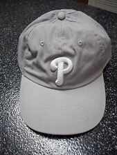Gray Philadelphia Phillies Baseball Cap New without Tags
