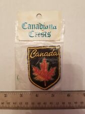 CANADA Canadian Maple Leaf Embroidered Patch Badge