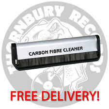 Vinyl Record Carbon Fibre (Fiber) Record Cleaner Cleaning Brush FREE POSTAGE