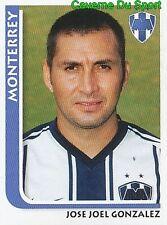 143 JOSE GONZALEZ CF.MONTERREY MEXICO STICKER SUPERFUTBOL 2009 PANINI