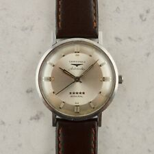 C.1960 Vintage Longines Automatic 5-star Admiral watch ref. 2653-340 in steel