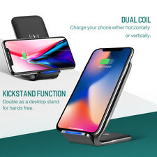 ROCK W3 Fast Wireless Charger(10w) Dock Station for iPhoneX 8 Samsung N8 S8 etc