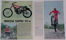 Article Articolo 1976 MONTESA CAPPRA 125